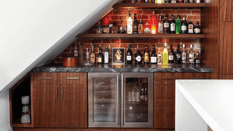 10 Unique Ways to Create Space and Remodel Under the Stairs