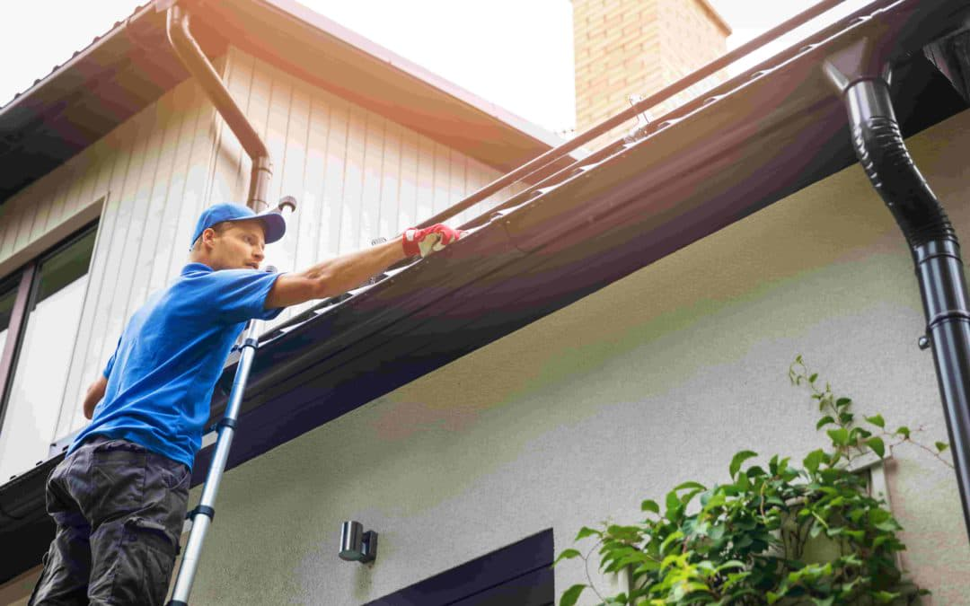 Unclog Gutters to Prevent Foundation Damage