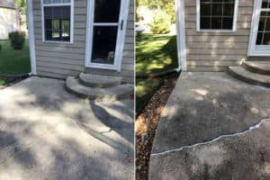 porch before & after repair